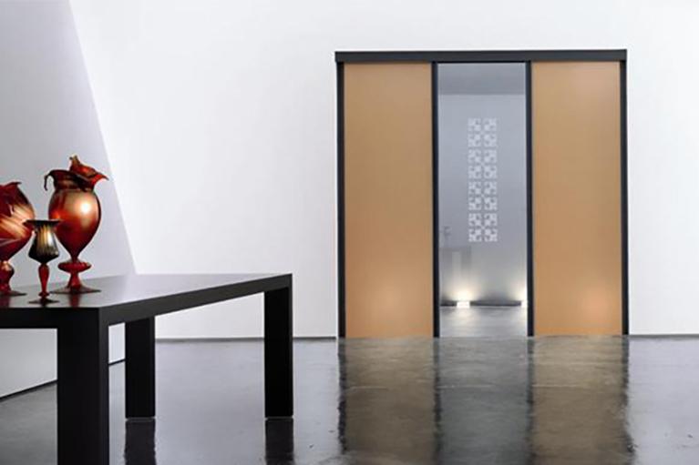 open henry glass porta a vetri